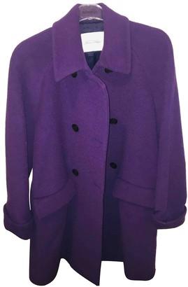 American Vintage Purple Wool Coats