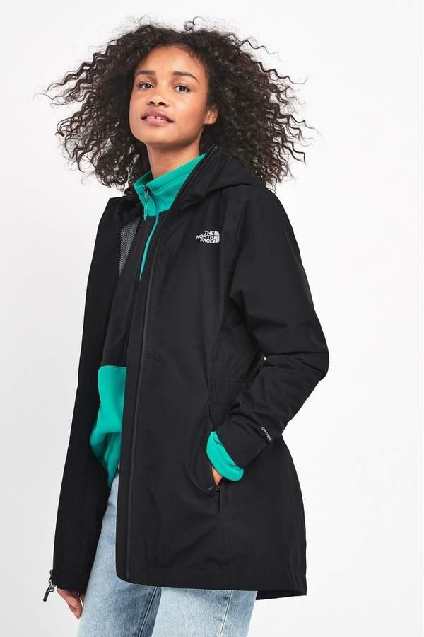 The North Face Womens Hikesteller Parka Shell Jacket Black X-Small