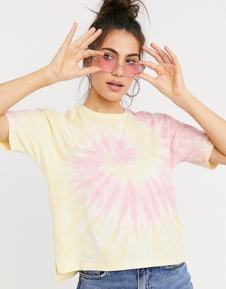 Only sacha t-shirt in tie dye