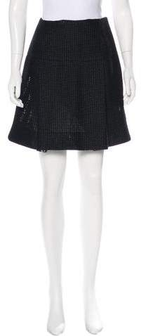 Chanel Paris-Shanghai Pleated Skirt