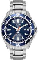 Citizen Eco-Drive Men's Promaster Stainless Steel Professional Dive Watch - BN0191-55L
