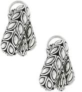John Hardy Women's Padi Silver Overlap Earrings