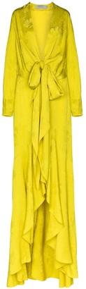 Silvia Tcherassi Albarella tie-waist maxi dress