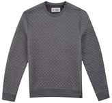 Original Penguin Quilted Sweatshirt, Griffin