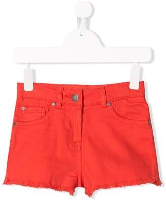 Stella McCartney High waist denim shorts