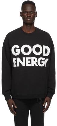 Moschino Black Good Energy Sweatshirt