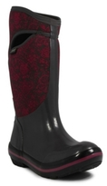 Bogs Plimsoll Quilted Floral Tall Rain Boot