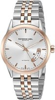 Raymond Weil Men's Swiss Automatic Stainless Steel Dress Watch, Color:Two Tone (Model: 2770-SP5-65011)