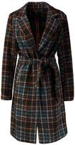 Only ONLANNA CHECK LONG Classic coat autumnal