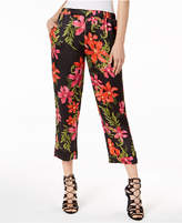 GUESS Phoenix Floral-Print Capri Pants