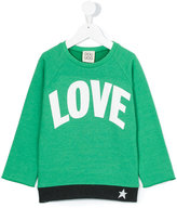 Douuod Kids - Love sweatshirt - kids - Cotton/Polyester - 4 yrs