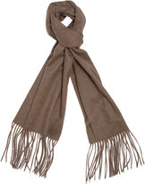 One Kings Lane Cashmere-Blend Waterweave Scarf, Sand
