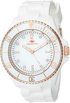 Seapro Women's SP7413 Bubble Analog Display Swiss Quartz White Watch
