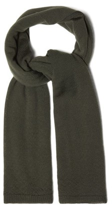 Rick Owens 75 Cashmere Scarf - Green