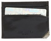 Ted Baker Men's Cryscar Leather Card Case - Black