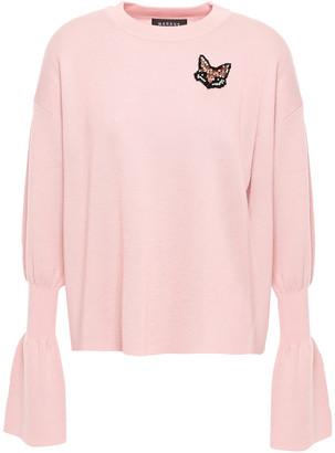 Markus Lupfer Nina Embellished Wool Sweater