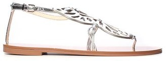 Sophia Webster Metallic Butterfly Sandal