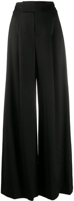 Alice + Olivia High-Waisted Palazzo Trousers