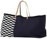 ferm LIVING Herman Cotton and Leather Bag