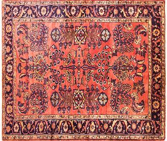 """One Kings Lane Vintage 5'6"""" x 6'3"""" Antique Persian Liilihan Rug - Eli Peer Oriental Rugs - blue/red"""