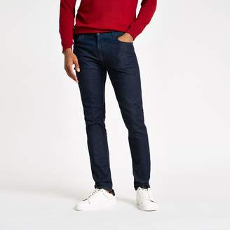 Lee Mens River Island Blue Malone skinny fit jeans
