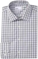 Nordstrom Rack Check Trim Fit Dress Shirt