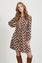 Vila Tie Shirt Dress - S (10)