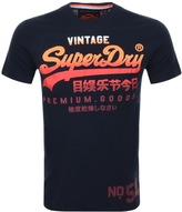 Superdry Premium Goods Lite T Shirt Navy