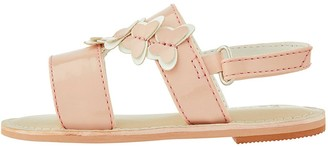 Monsoon Baby Girls Bonnie Butterfly Sandal - Pale Pink