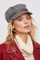 Free People Riley Stripe Lieutenant Hat