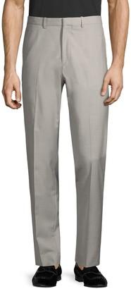 Theory Flat-Front Wool Pants
