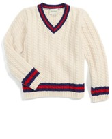 Gucci Infant Boy's Cable Knit Wool Sweater