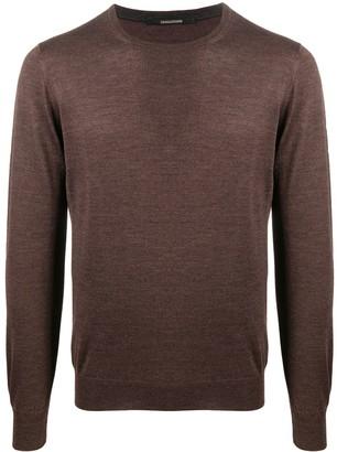 Tagliatore Crew Neck Fine Knit Sweater
