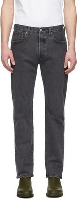 Levi's Levis Grey 501 93 Straight Jeans
