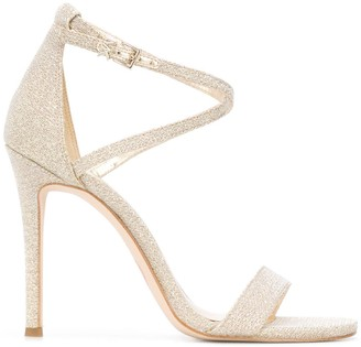 Michael Kors Glitter Heeled Sandals