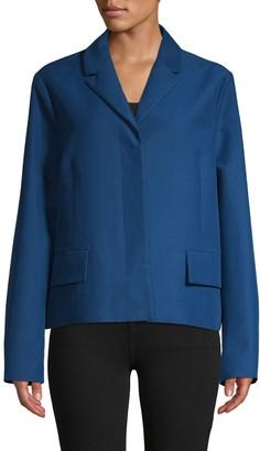 Marni Notch Lapel Cotton Jacket