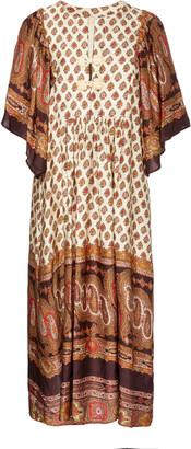 By Ti Mo Autumn Draped Jersey Kaftan Dress