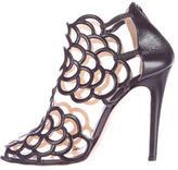 Oscar de la Renta Gladia Leather Sandals