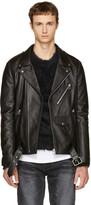 Faith Connexion Black Leather Jacket
