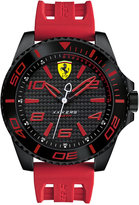 Ferrari Scuderia Men's XX Kers Red Silicone Strap Watch 50mm 830308