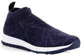 Jimmy Choo Norway Lurex Knit Sneakers