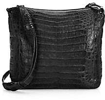 Nancy Gonzalez Women's Small Crocodile Crossbody Bag