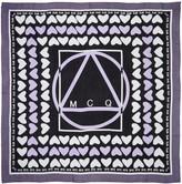 McQ by Alexander McQueen Purple Hearts Scarf