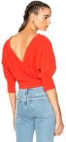 Rachel Comey Tempe Top in Red.