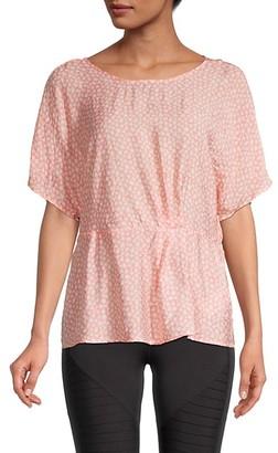 Nanette Nanette Lepore Floral Peplum T-Shirt