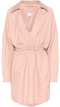 Stella McCartney Cotton and linen-blend dress