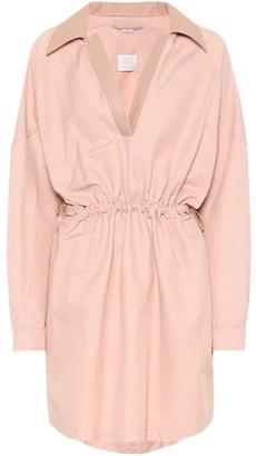 Stella McCartney Cotton and linen-blend dress