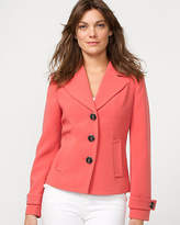 Le Château Double Weave Notch Collar Jacket