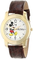 Disney Men's MCK622 Leather Quartz Watch
