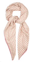 Bottega Veneta Butterfly-print cashmere and silk-blend scarf
